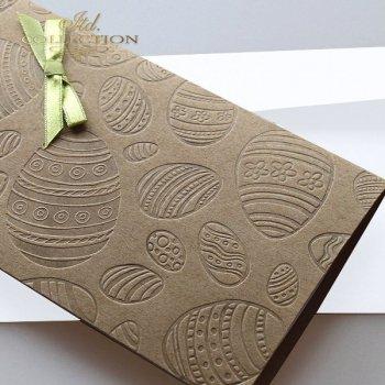 Пасхальная открытка с конвертом KW225