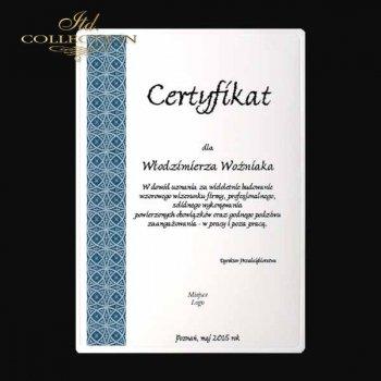 Diplom DS0332 Universelles Zertifikat