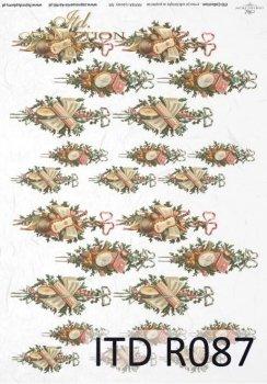Reispapier für Serviettentechnik und Decoupage R0087