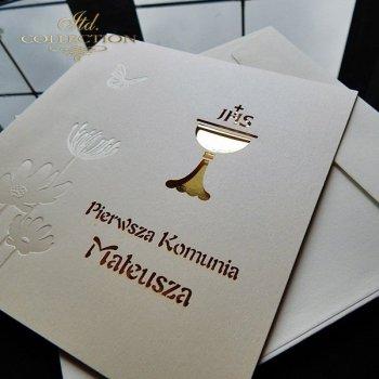 Kommunionskarte 1726_20_Gold