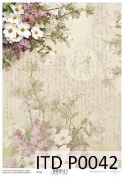 Transparentpapier für Scrapbooking P0042