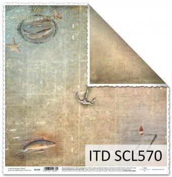 Papier für Scrapbooking SCL570