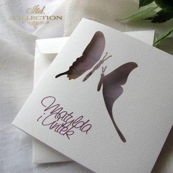 Einladungskarten / Hochzeitskarte 1731_46_Apfelblüte