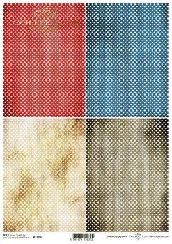 Reispapier für Serviettentechnik und Decoupage R1809