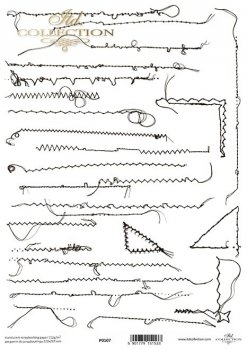 Transparentpapier für Scrapbooking P0107
