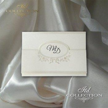 Einladungskarten / Hochzeitskarte 2039