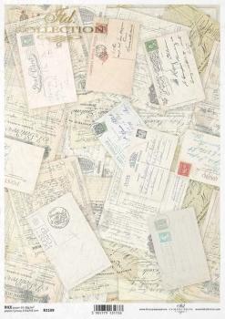 Reispapier für Serviettentechnik und Decoupage R1109
