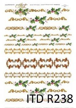 Reispapier für Serviettentechnik und Decoupage R0238
