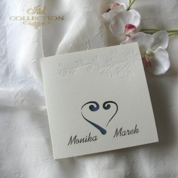 Einladungskarten / Hochzeitskarte 1723_35_türkis