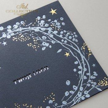 Weihnachtskarten für Unternehmen / Weihnachtskarte K620