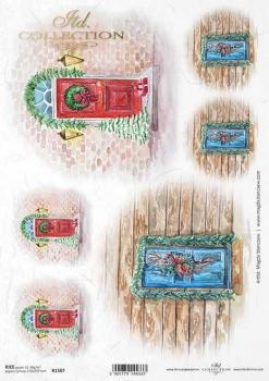 Reispapier für Serviettentechnik und Decoupage R1507