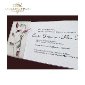 Einladungskarten / Hochzeitskarte 1482