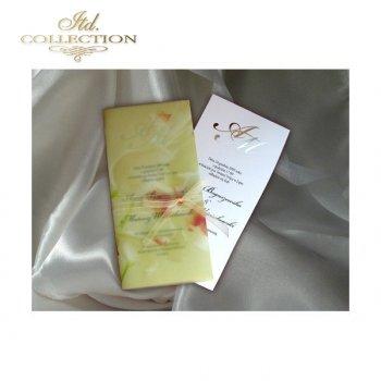 Einladungskarten / Hochzeitskarte 1472