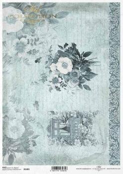 Reispapier für Serviettentechnik und Decoupage R1401