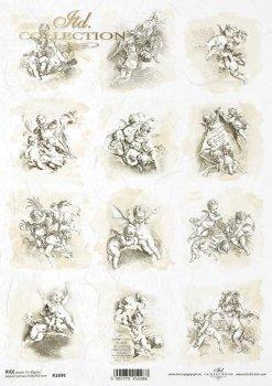 Reispapier für Serviettentechnik und Decoupage R1694