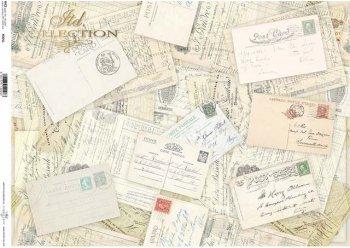 Reispapier A3 für Decoupage R0005L