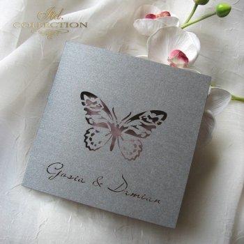 Einladungskarten / Hochzeitskarte 1694_95