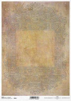 Reispapier für Serviettentechnik und Decoupage R0921