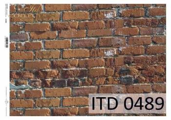 Papier für Serviettentechnik und Decoupage D0489M