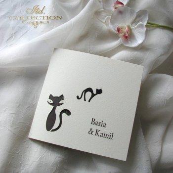Einladungskarten / Hochzeitskarte 1732_42_braun