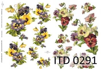 Decoupage paper ITD D0291M