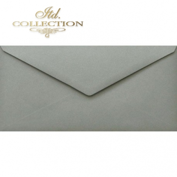 .Envelope KP06.12 110x220 grey
