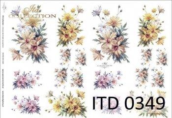 Decoupage paper ITD D0349
