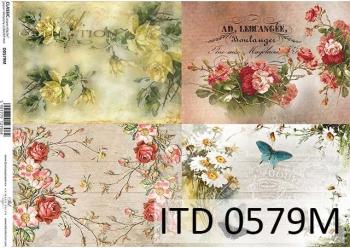 Decoupage paper ITD D0579M