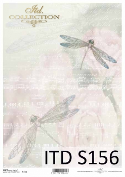 Decoupage paper Soft ITD S0156