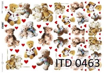 Decoupage paper ITD D0463M