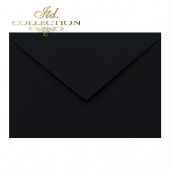.Envelope KP04.14 'C6' 114x162 black