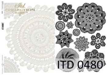 Decoupage paper ITD D0480M
