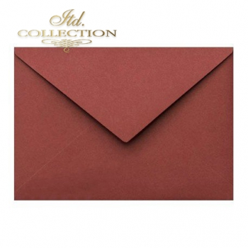 .Envelope KP04.19 'C6' 114x162 burgundy