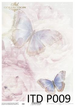 Translucent scrapbooking paper P0009