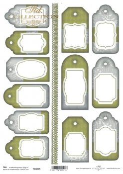 Tags, frames to scrapbooking TAG0005