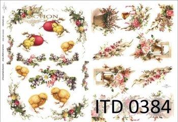 Decoupage paper ITD D0384M