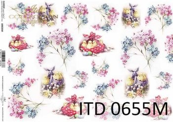 Decoupage paper ITD D0655M