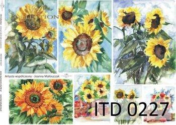 Decoupage paper ITD D0227M