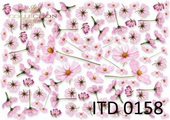 Decoupage paper ITD 0158