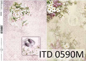 Decoupage paper ITD D0590M