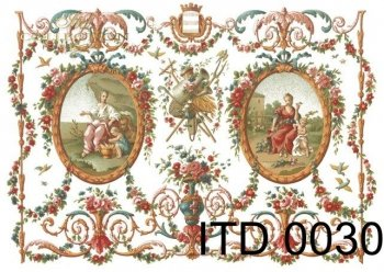 Decoupage paper ITD D0030M