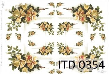 Decoupage paper ITD D0354M