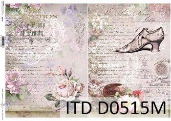 Decoupage paper ITD D0515M
