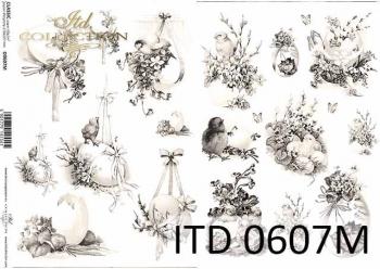 Decoupage paper ITD D0607M