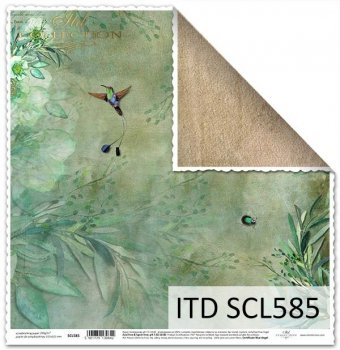 scrapbooking paper SCL585