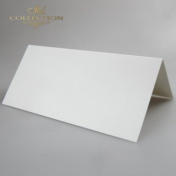Card Base BDK-007 * cream colour, iridescent paper
