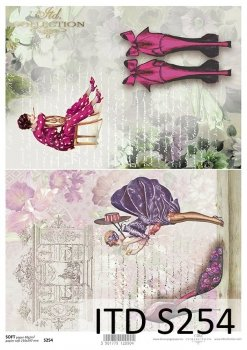 Decoupage paper Soft ITD S0254