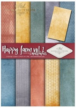 Scrapbooking papers SCRAP-040 ''Happy farm vol. 1''