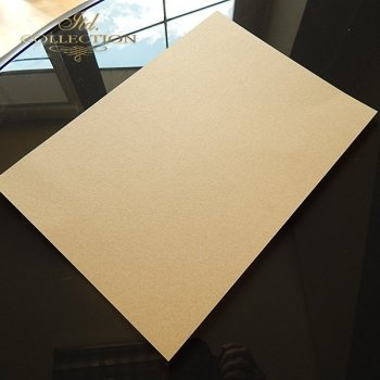 Paper for Scrapbooking, color: brown - ecologically