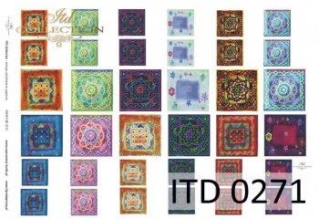 Decoupage paper ITD D0271M